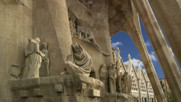 Sagrada Familia od Antoniho Gaudího v Barceloně, Španělsko