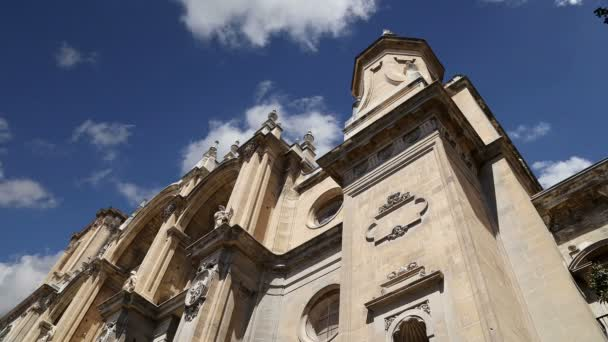Granada Cathedral (Cathedral of the Incarnation) in gothic and spanish renaissance style, Andalucia, Spain