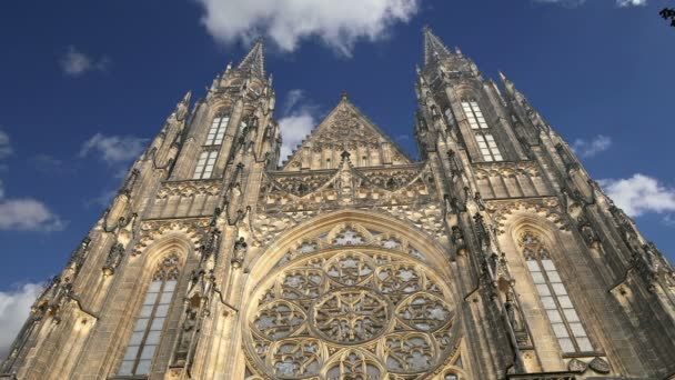 Katedrála svatého Víta (římskokatolická katedrála) Pražský hrad a Hradčany, Česká republika
