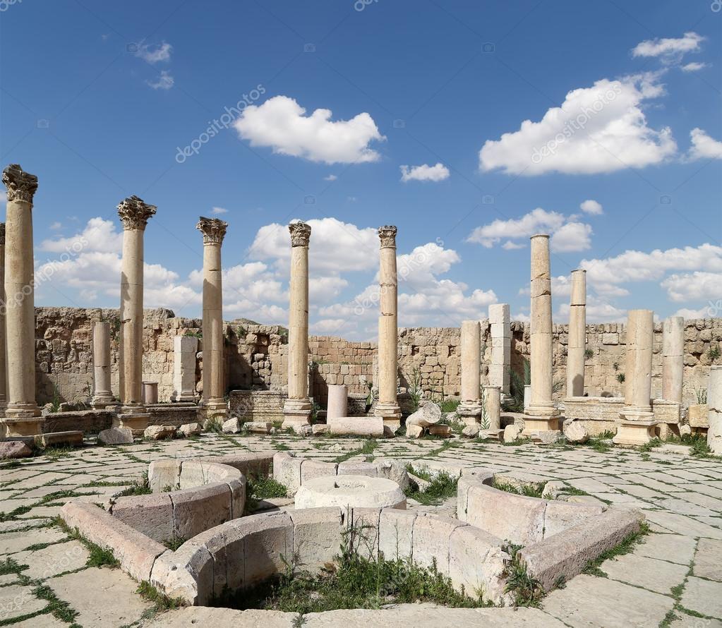 ローマ遺跡ジェラシュ (古代の...