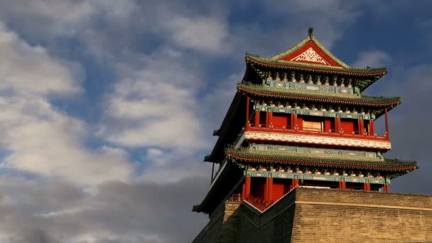 Zhengyangmen Gate (Qianmen). This famous gate is located at the south of Tiananmen Square in Beijing, China