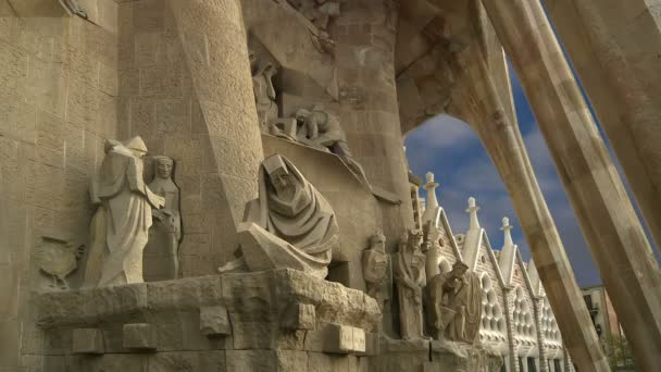 Sagrada familia od Antoniho Gaudího v Barceloně Španělsko