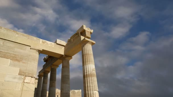 Apollo Temple at the Acropolis of Rhodes, Greece