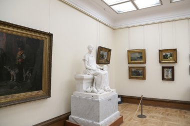 State Tretyakov Gallery is an art gallery in Moscow, Russia, the foremost depository of Russian fine art in the world. Gallery's history starts in 1856.