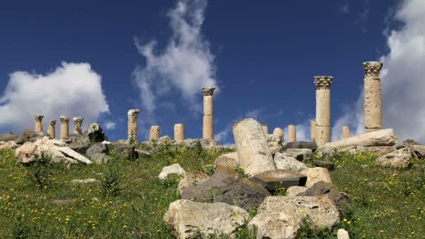 Roman ruins at Umm Qais (Umm Qays), Jordan,Middle East