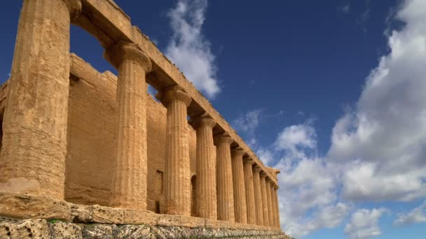 Ancient Greek temple of Concordia (V-VI century BC),Valley of the Temples, Agrigento,Sicily