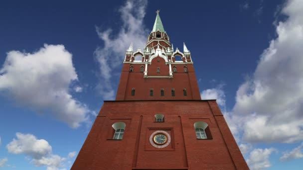 Kremlin - Rusya, Moskova (zaman atlamalı görünümünü)
