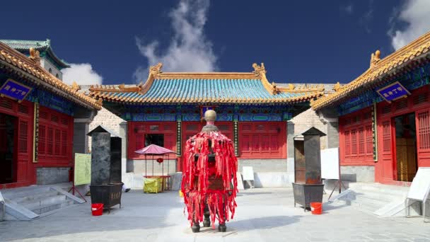 Traditional Buddhist temple, Beijing,China