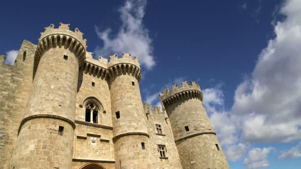 Rhodes Island, Greece, a symbol of Rhodes, of the famous Knights Grand Master Palace (also known as Castello) in the Medieval town of rhodes,a must-visit museum of Rhodes