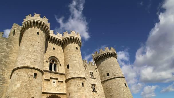Ostrov Rhodos, Řecko, symbolem Rhodes, slavného paláce Grand Master rytíři (také známý jako Castello) v středověké město Rhodos, se musí návštěva muzea Rhodos
