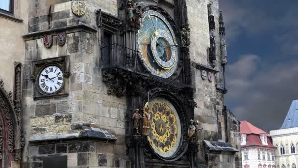 Astronomical clock in Prague,Czech republic