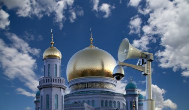 Moscow Cathedral Mosque, Russia - the main mosque in Moscow