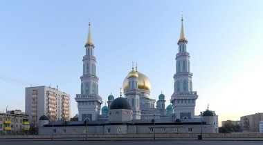 Moscow Cathedral Mosque, Russia --the main mosque in Moscow