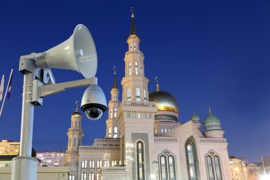 Moscow Cathedral Mosque, Russia -- the main mosque in Moscow
