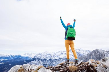 Woman reached summit