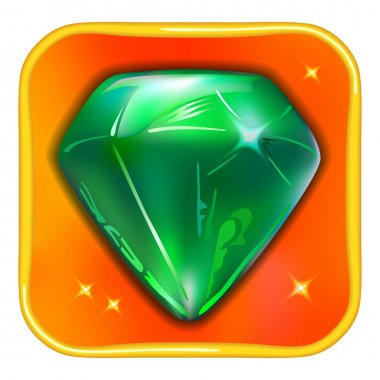 App game icon emerald