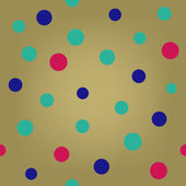 Pop art polka dot seamless background