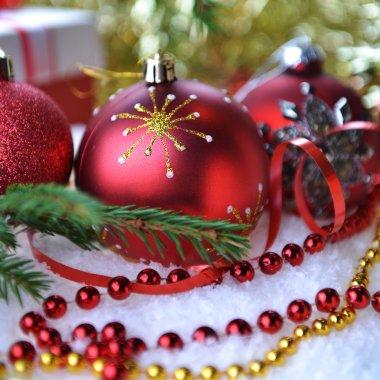 christmas toys  and gift box