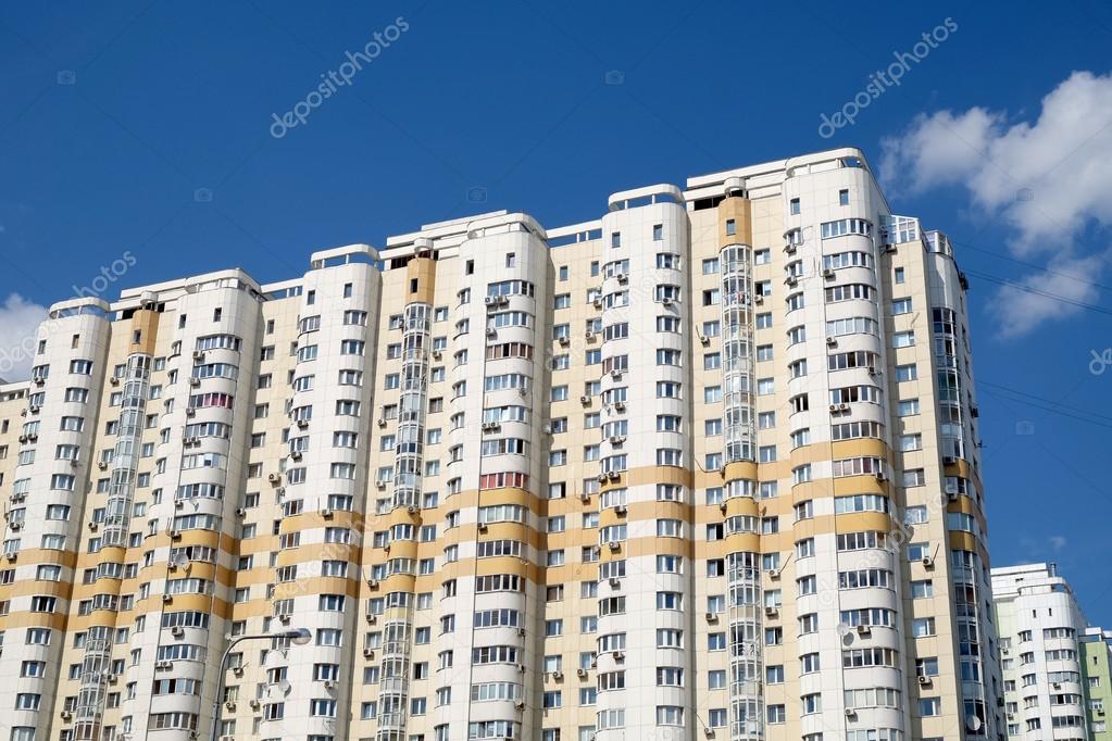 Amado Fachada de prédios de apartamentos modernos — Stock Photo © iDyMax  RZ57