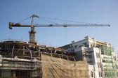 Fotografie Jeřáb na stavební rekonstrukce