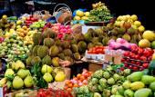 Fotografie Exotische Früchte, asiatischen Markt