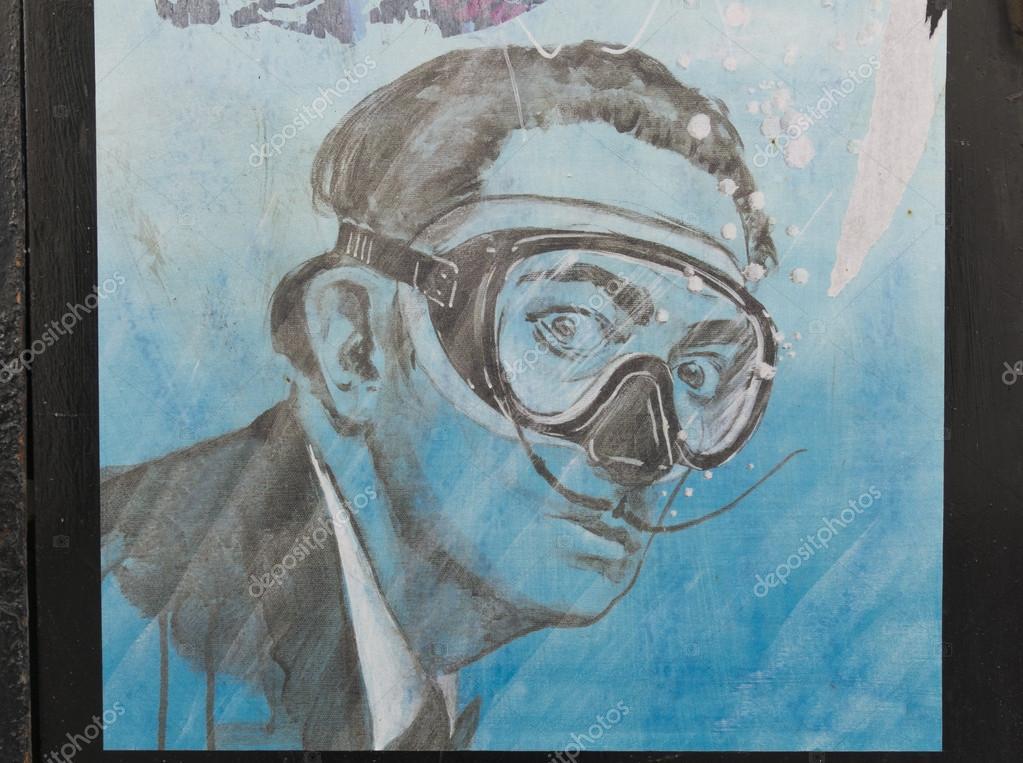 Humorous tribute to Salvador Dali