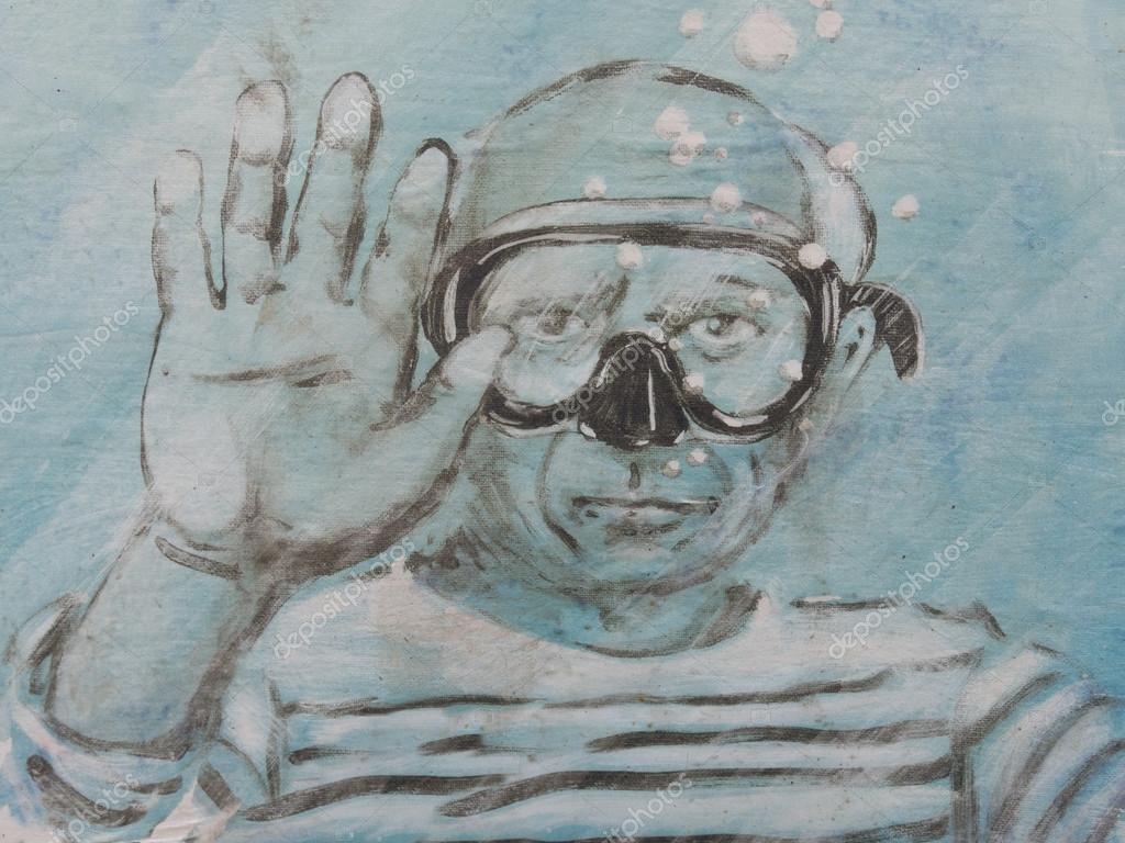 Humorous tribute to Pablo Picasso