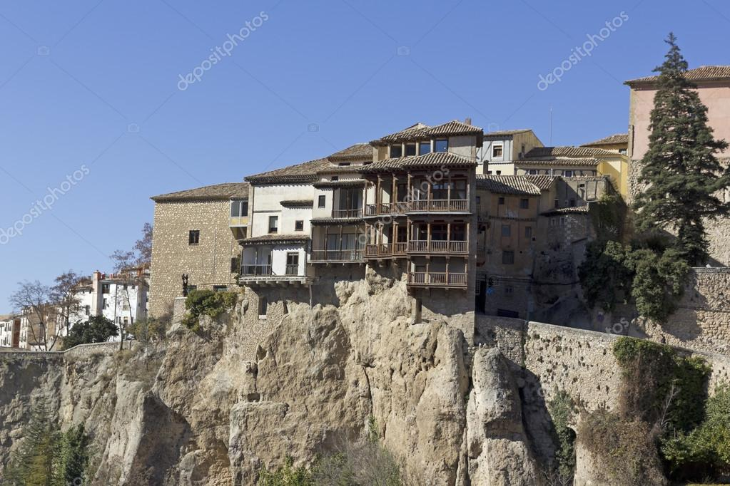 Perfect Hanging Houses, Cuenca, Spain U2014 Stock Photo