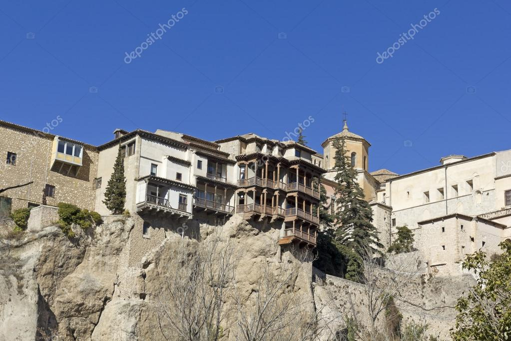 Hanging Houses, Cuenca, Spain U2014 Stock Photo