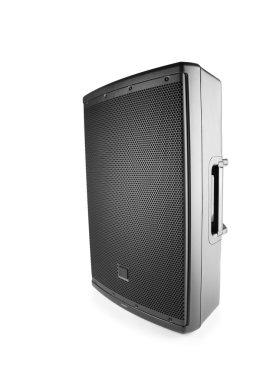 professional audio speaker PA, isolated on white