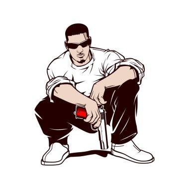 Gangster with a gun