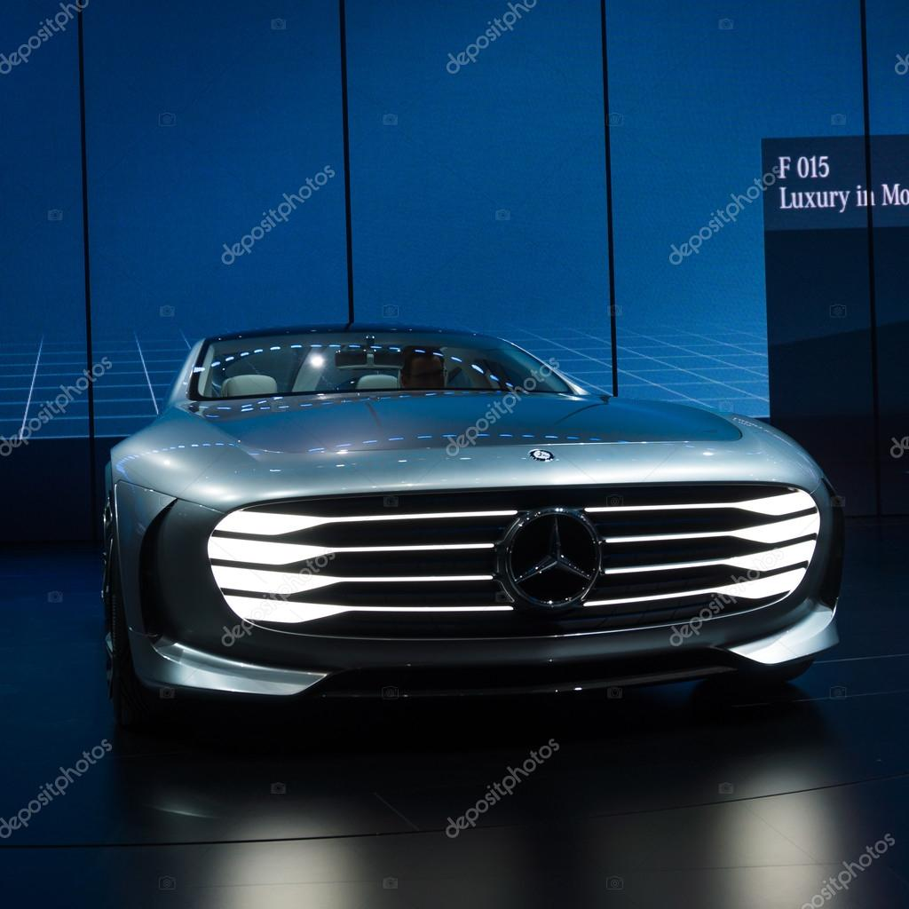 Mercedes F 015 >> Mercedes Benz F 015 Luxury Stock Editorial Photo