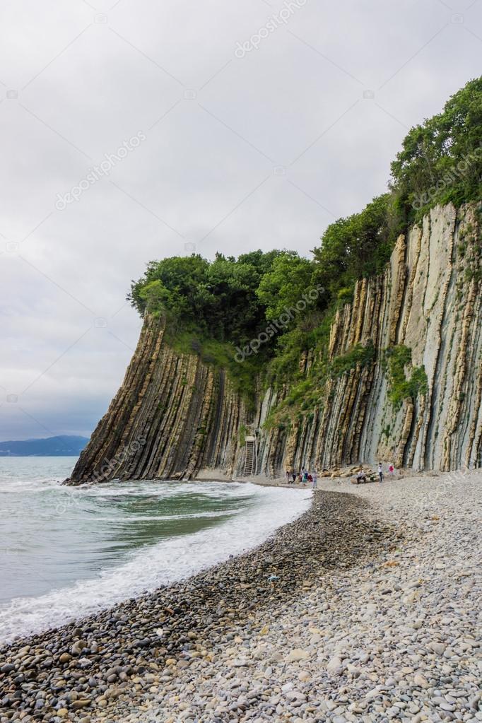 岩 Kiseleva、自然ランドマーク...