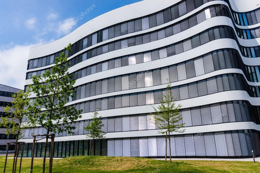 Extérieur dun immeuble de bureaux moderne u2014 photographie ewastudio