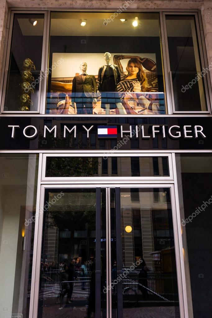 designer fashion 985bf 9795a Entrance to a Tommy Hilfiger store – Stock Editorial Photo ...