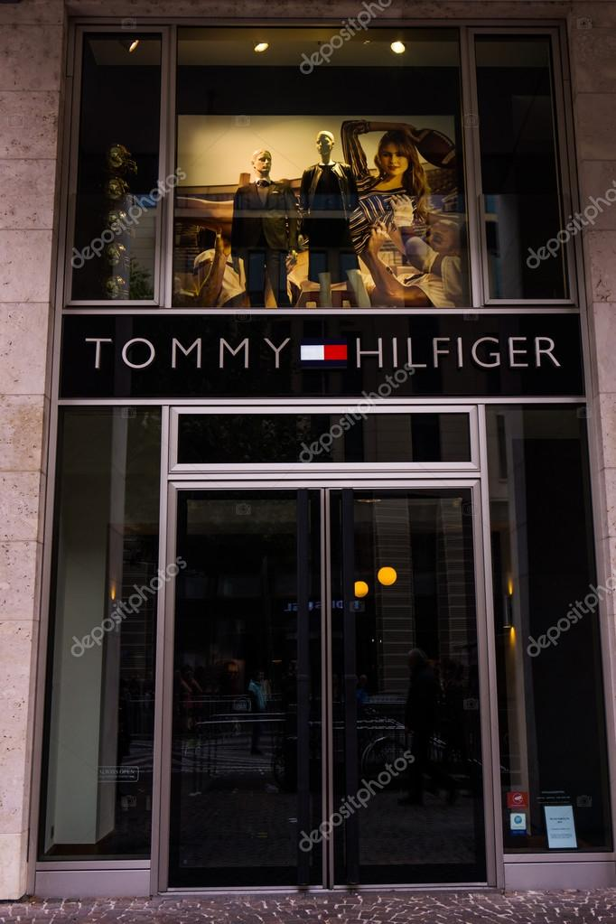 cheap for discount af76b 34b41 Tommy Hilfiger store – Stock Editorial Photo © ewastudio ...