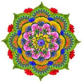 Fotografie Heilige Lotus mandala