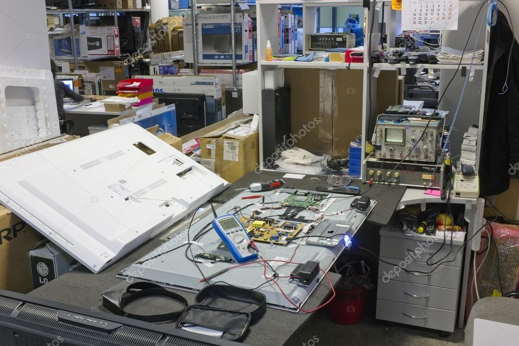 Workplace  on repair of all brands TVs