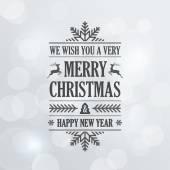 Fényképek Boldog karácsonyt Vintage Retro tipográfiai betűk Design Greeti