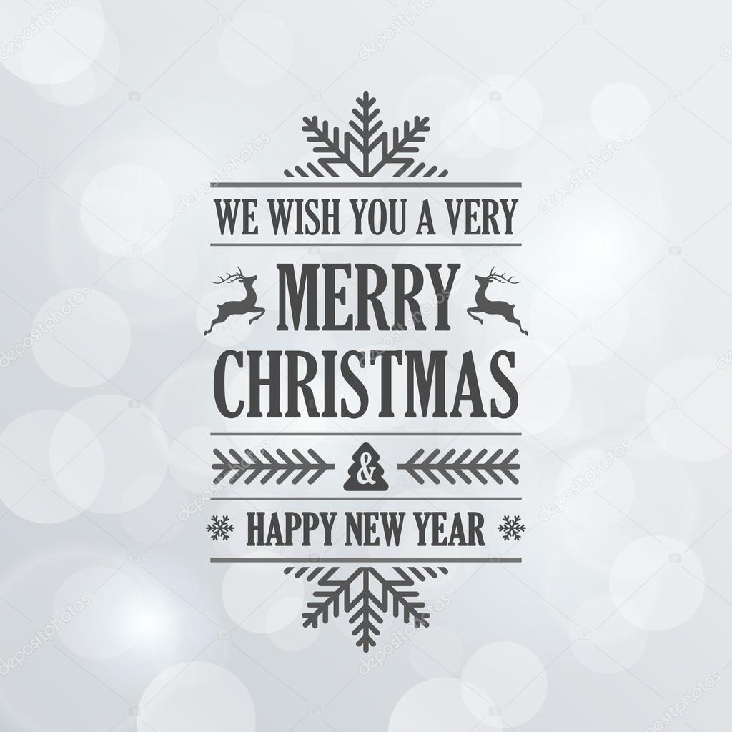 frohe weihnachten vintage retro typografie schriftzug design greeti stockvektor sellingpix
