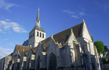 The Gothic church of St.Croix