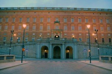 Facade of Royal palace