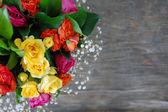 Barevné kytice k narozeninám