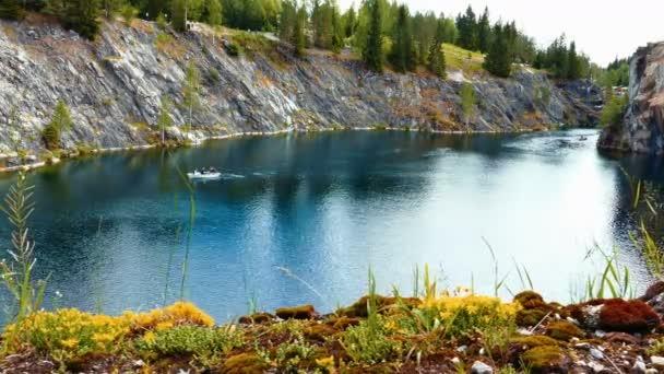 Marble Canyon Ruskeala in Karelia, Russia