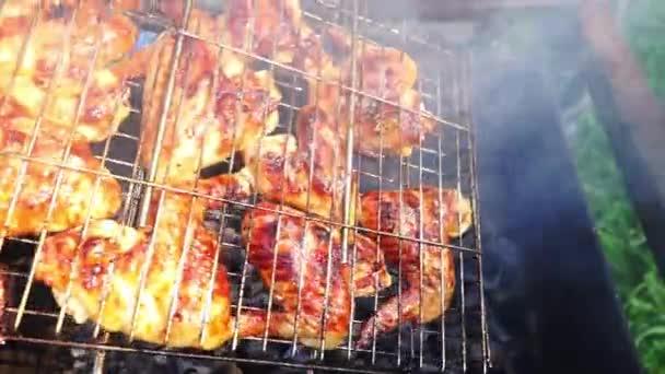 Piknik grill csirke szárny