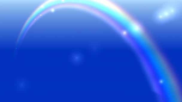 Leuchtende Lichter und Staubpartikel