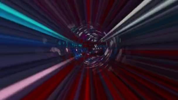 Projíždění konceptem hi-tech tunelů