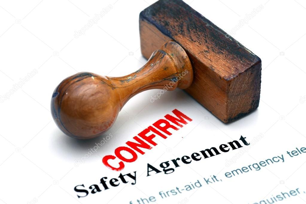 Safety Agreement Stock Photo Alexskopje 73366543