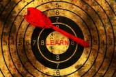 Dart on grunge learn target