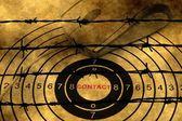 Webový kontaktní koncepce proti barbwire